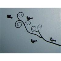 Dekoratif Duvar Sticker