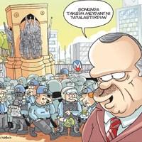 Gırgır, Erdoğan'ın Taksim Yasağını Tiye Aldı!