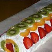 Meyveli Rulo Pasta Tarifi...