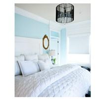 Yatak Odasında Mavi Rengin Ferahlatıcı Ektisi
