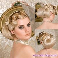 En Yeni Gelin Saçı Modelleri
