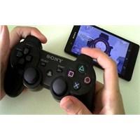 Sony Xperia Z1 E Playstation 3 Kolu Takmak !