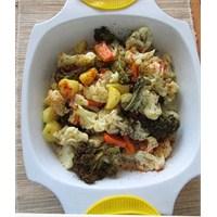 Kağıtta Sebze Salatası