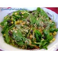 Ispanak Salatası Tarifi, Yapılışı Ve Malzemeleri