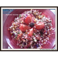 Susamlı Buğday Salatası
