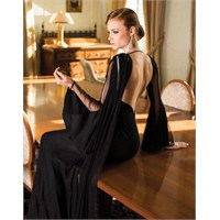 Göz Alıcı Siyah Abiye Elbise Modelleri
