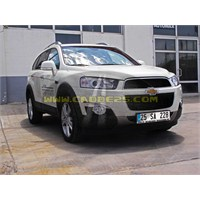 2012 Yeni Chevrolet Captiva-test