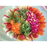 Mevsim Salatası İçin Tarif