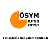 Kpss 2013-2 Yerleştirme Sonuçları Açıklandı