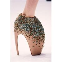 Alexander McQueen Fantastic Topuklu Ayakkabıları