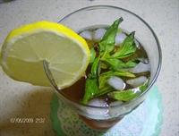 Sıcak Yaza İnat, Buz Gibi Limonlu Soğuk Çay