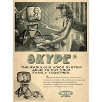 Facebook, Skype Ve Youtube'ta Vintage Ruhu!