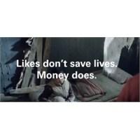 Facebook Beğenileri Hayat Kurtarmaz