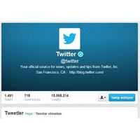 Twitter Profilleri Güncelleniyor !