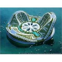 Dubai De Okyanus'un Üzerinde Yüzen Kent