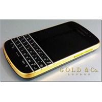 24 Ayar Altın Kaplama Blackberry Q10