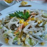 Dukan Usulü Tavuk Salatası (Resimli Anlatım)