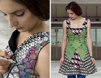 Elbise Boyama Sanatı