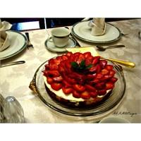 Çilekli Cheesecake / Peykek