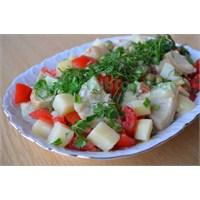 Enginar Salatası Yapılışı