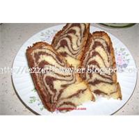 Zebra Desenli Kek