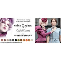 China Glaze, Hunger Games'in Resmi Ojesi Oldu