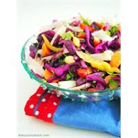 Gök Kuşağı Salatası