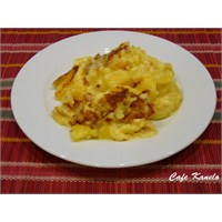 Cafe Kanelo'nun Yoğurtlu Patates Yemeği