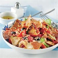 Güzel Bir Çıtır Yufgalı Salata Tarifi