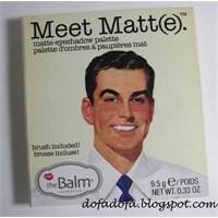 Thebalm Meet Matt(E) Far Paleti