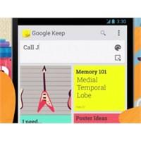 Google, Yeni Uygulaması Keep'i Tanıttı
