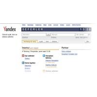 Şehirlerarası Tüm Seferler, Artık Yandex'te!