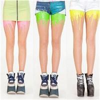 İlginç Bir Tasarım: Eriyen Çoraplar