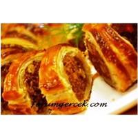 Köfteli Börek - Milföy İçinde Börek