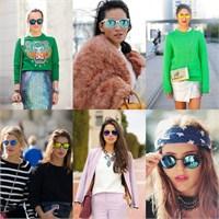 Yülselen Trendlerden: Aynalı Gözlükler