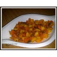 Zeytinyağlı Kereviz Yemeği (Portakallı )