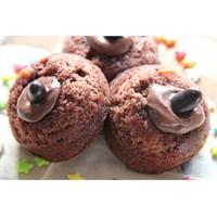 Çikolata Dolgulu Muffin