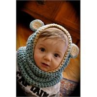 Bebek Örgü Bere Şapka Örnekleri 2014
