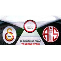 Bir Futbol Ayini : Galatasaray 2–0 Mp Antalyaspor