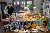 Farklı Ülkelerde Ailelerin 1 Haftalık Yiyecekleri