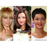 2012'nin İlham Veren Saçları