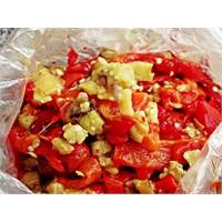 Kışlık Patlıcan Salatası Yapma
