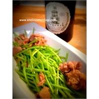 Ton Balıklı Semizotu Sapi Salatası