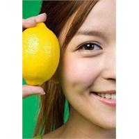 Lekeli Cilde Limon Suyunun Etkisi