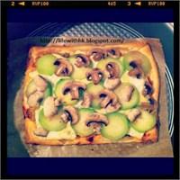 Öğrenci İşi Yemek Tarifleri: Kabaklı Pizza