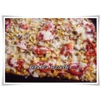Ekmek Hamuruyla Nefis Pizza