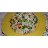 Fazlıkızından Pirinç Salatası