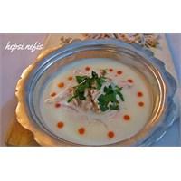 Sütlü Levrek Çorbası