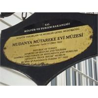 Bursa- Mudanya Mütareke Evi Müzesi