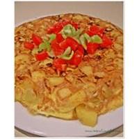 Kahvaltıda İspanyol Omleti